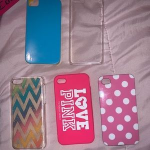 5 cases for iPhone 4